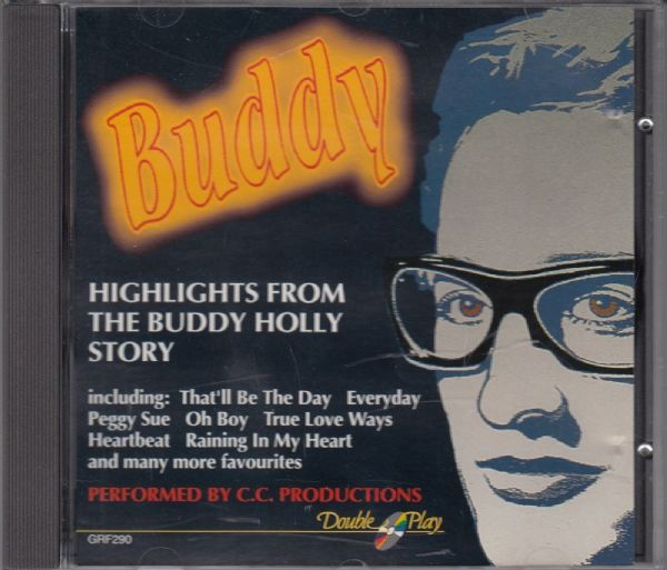 BUDDY - HIGHLIGHTS FROM THE BUDDY HOLLY STORY ( CD) USED